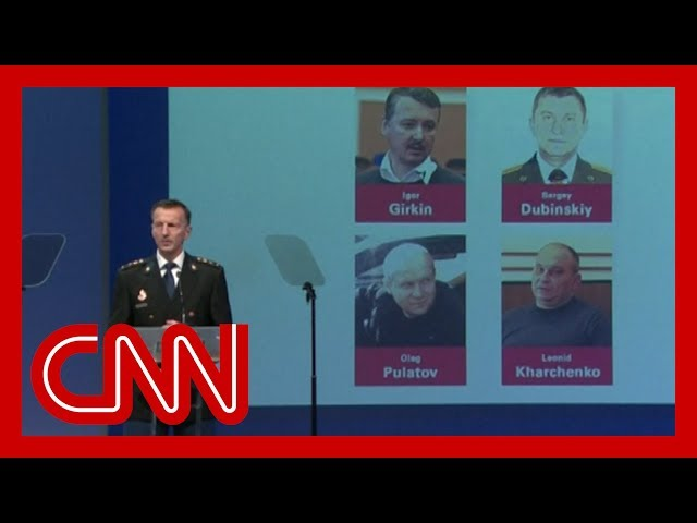MH17 investigators name four suspects facing murder charges thumbnail