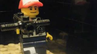 Lego secret agent surprize attack