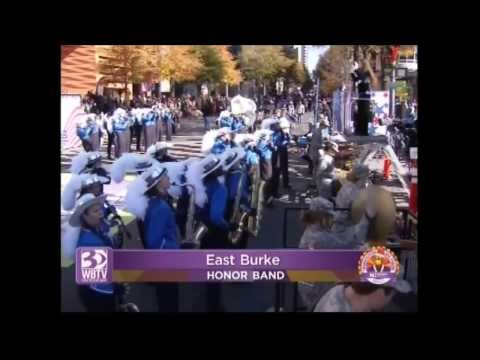 East Burke High School Cavalier Marching Band   Novant Thanksgiving Day Parade 2013   Copy