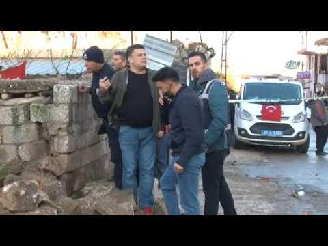 Reyhanlı'ya 2 Roket Atıldı! Olay Yerinden İlk Görüntüler