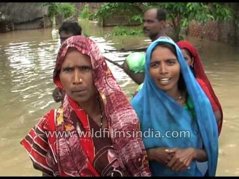 Floods hit Bahraich & Barabanki in Uttar Pradesh
