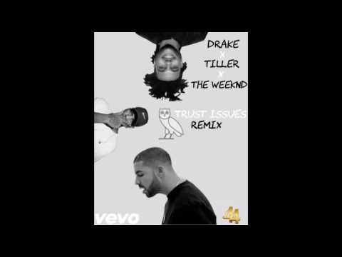 Drake, Bryson Tiller & The Weeknd - Trust Issues Remix (Official Audio)