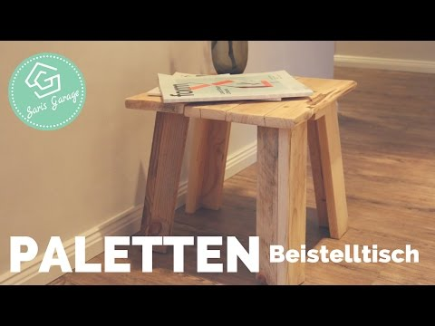 felgen tisch selber bauen how2. Black Bedroom Furniture Sets. Home Design Ideas