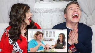 REACTING TO A PSYCHIC READING OF MY BABY!