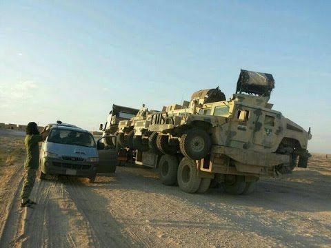 ISIS boasts US-made Humvee war spoils, Iraq loses 2,300 vehicles in Mosul alone