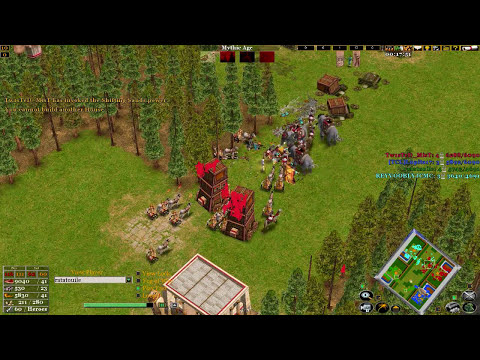 Age of mythology the TITANS 2V2 ZELDA