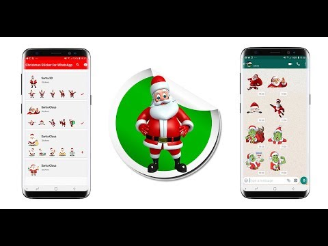 How To Send Christmas Stickers On Whatsapp