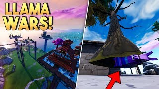 LLAMA WARS! v4 - Fortnite Creative (Nederlands)