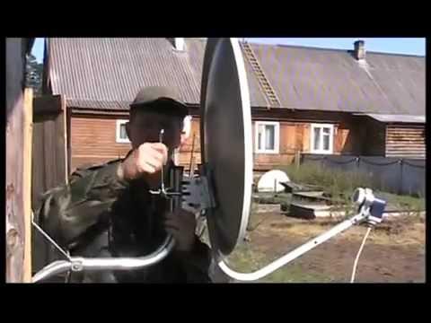 Видео как настроить Триколор самостоятельно