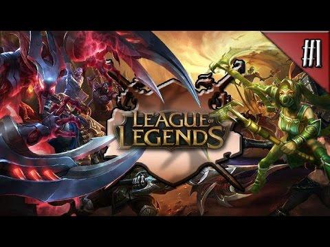 League Of Legends : Türkiye Sunucusu / (S1) Dereceli Maç #1 - Alt Koridor Taric!
