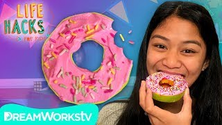"Sprinkled Apple ""Donut"" And More Edible Hacks | LIFE HACKS FOR KIDS"