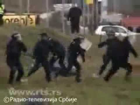 Kosovo Police Special Forces fight serbs