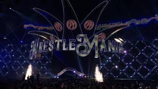 AJ Styles Entrance - WWE WrestleMania 34