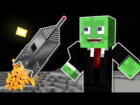 Minecraft | MrWilliamo Goes To The Moon! (Space Race Finale)