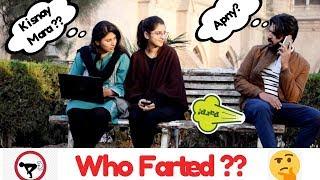Farting On Girls Prank | GC University Lahore | Haris Awan