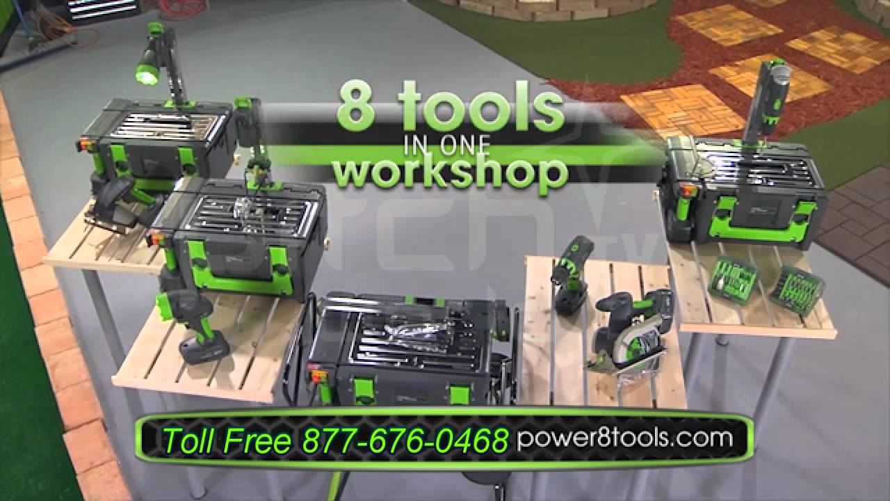 Power8 workshop the worlds only complete cordless and portable workshop of it - Power8 workshop price ...