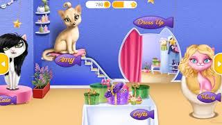PLAY FUN PET KITTEN CARE & HAIR SALON DRESS UP GAMES