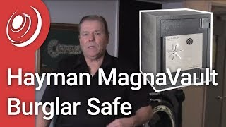 Overview - Hayman MagnaVault TL-30 Burglar Fire Rated Safes