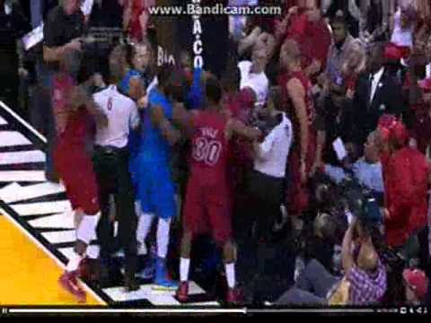 Oklahoma City vs Miami Heat Highlights - Finals Rematch (Christmas Day 2012)
