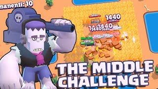 FRANK IN THE MIDDLE CHALLENGE | Brawl Stars ITA