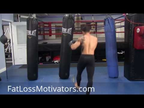MMA Heavy Bag Workout - MMA Punching Combinations Image 1