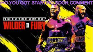 Wilder VS Fury 2 LIVE STREAM