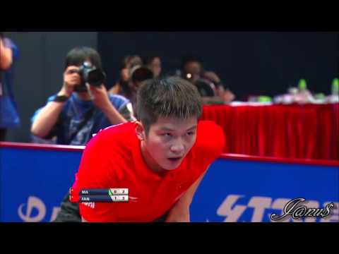 2016 Asian Olympic Qualification (Ms-Final) MA Long - FAN Zhendong [HD] [Full Match|Short Form]