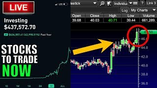 MILLION DOLLAR MONDAY – Day Trading Live, Stock Market News, LIVE Trading & Stocks To INVEST IN!