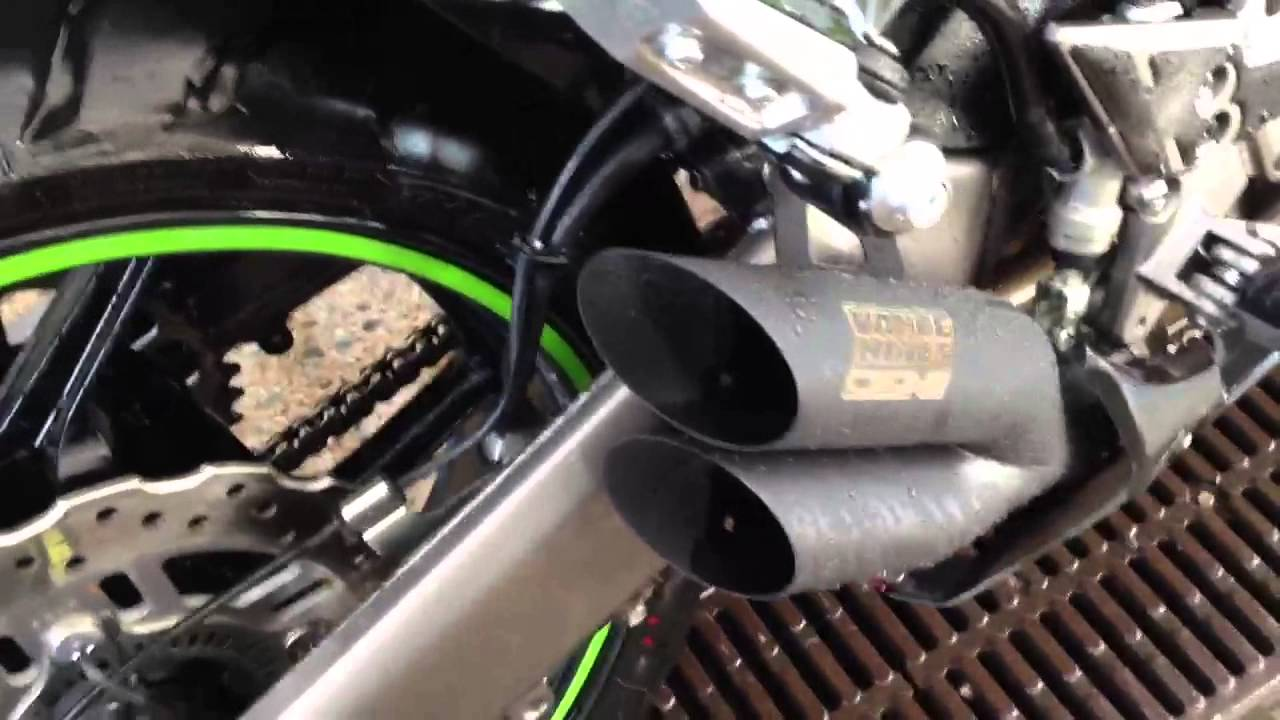 Kawasaki Ninja Exhaust Pipes