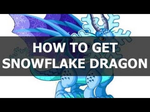 How To Get SnowFlake Dragon in Dragon City - WEIRD WAY