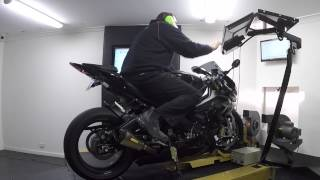 2014 BMW S1000RR Dyno Tuned Power Runs and Quickshifter.