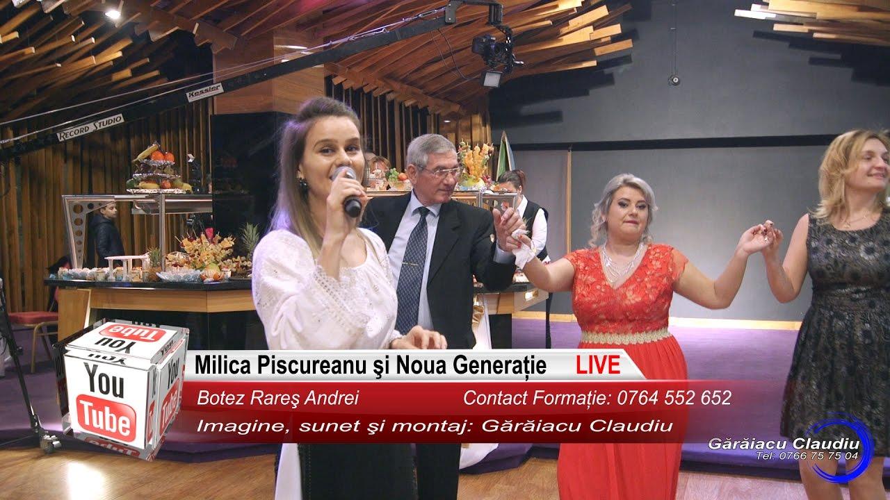 Milica Piscureanu si Noua Generatie | Colaj HORA LIVE, Muzica de Petrecere | Botez Rares Andrei