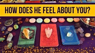 HOW DOES HE FEEL ABOUT YOU? ❤️ *Pick A Card* Love Relationship Reading Timeless