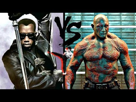 Blade VS. Drax DEATH MATCH⚔ Wesley Snipes VS. Bautista's Weapons | Guardians Of The Martial Arts!
