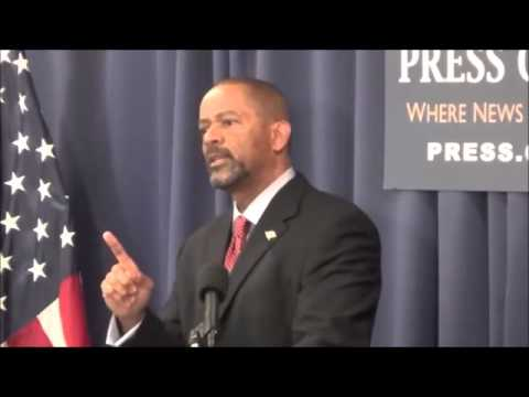 Sheriff Clarke ~ Burns Eric Holder on irresponsible comments and catches him