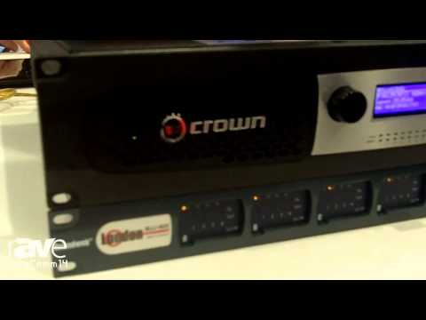 InfoComm 2014: Crown Shows its First AVnu Certified Endpoint