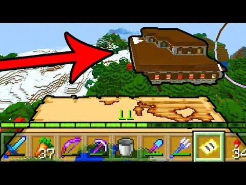 МАЙНКРАФТ ВЫЖИВАНИЕ НА ТЕЛЕФОНЕ НА ОСТРОВЕ #30 КАК НАЙТИ ЛЕСНОЙ ОСОБНЯК ? в Minecraft Pocket Edition
