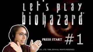 [ Resident Evil 1 ] HD Remaster (Blind Let's Play) - Part 1
