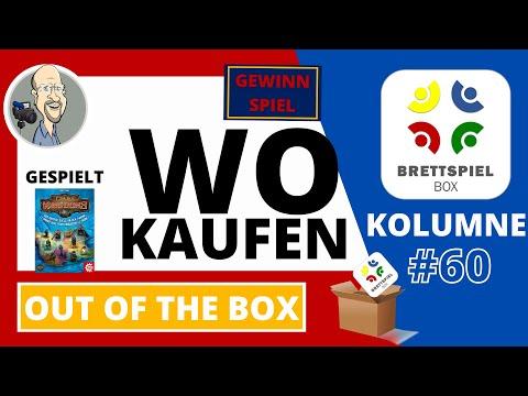 Brettspiel Kolumne Out of the box 60 Wo kaufen