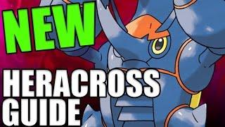 MEGA HERACROSS MOVESET GUIDE For Pokemon Sun and Moon! How To Use Heracross