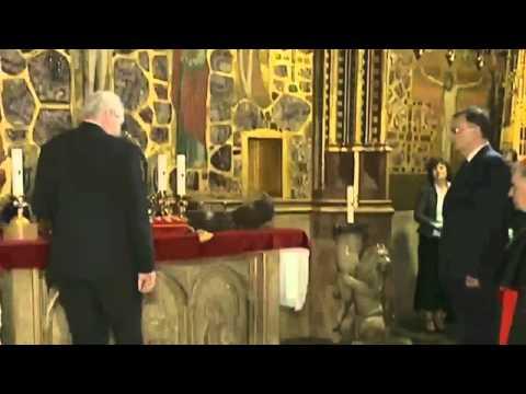 В стельку пьяный президент Чехословакии Милош Земан Юмор! Прикол! Смех