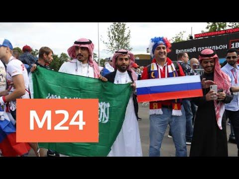 Болельщики поделились впечатлениями о матче между Россией и Саудовской Аравией - Москва 24