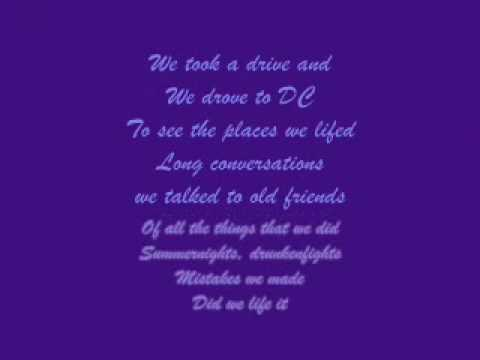 Good Charlotte-The Day that I Die with lyrics