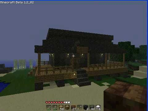 Minecraft Country House With Wrap Around Porch Youtube