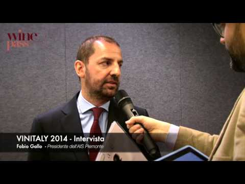 Vinitaly 2014 - Intervista Fabio Gallo