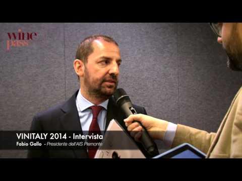 Vinitaly 2014 - Intervista Fabio Gallo