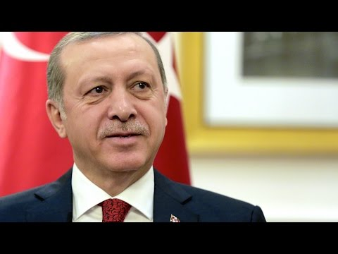 Turkey's Erdoğan Slammed By Protesters in Washington DC
