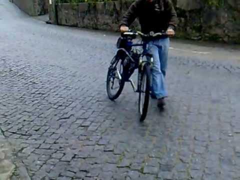 Motorized bike full suspension BMC Bina 66cc tuned up w/ shift kit