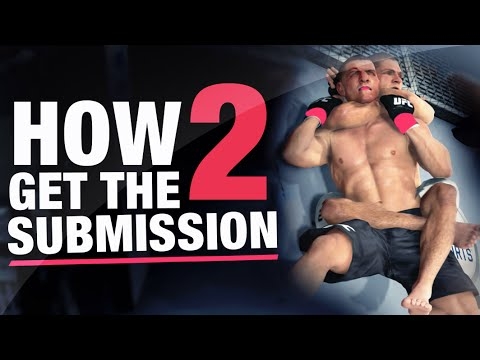 Ea Sports UFC How to Do Submissions / Tip Online Gameplay Commentary