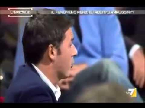 Piero Ricca mette Matteo Renzi alle strette
